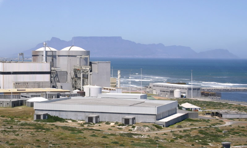 Koeberg is South Africa's only nuclear power station
