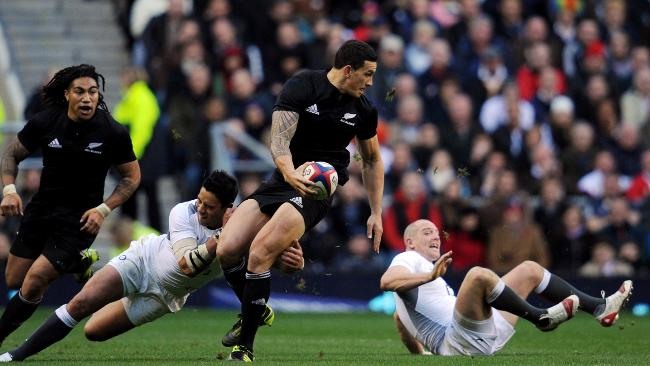 Sonny Bill Williams made a huge impact on the game.