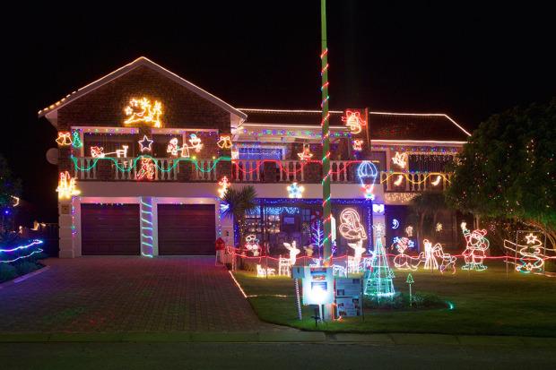 Jeffreys Bay Christmas House in Support of NSRI Station 37 | Jeffreys Bay.